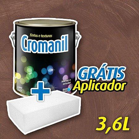 2 - Cimento Queimado Cor Café Expresso - 900ml ou 3,6 L - GRÁTIS APLICADOR