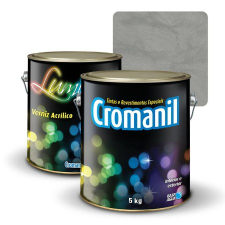 KIT Cimento Queimado Galão (5kg)  + 1 Verniz Galão (5kg)  -  TRADICIONAL