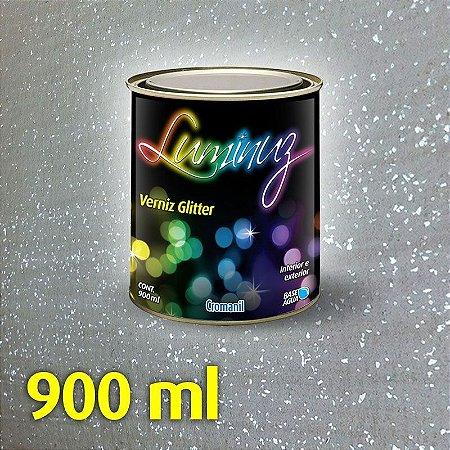 PRATA - Luminuz Verniz Glitter  Lata 900ml