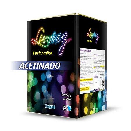 Verniz Acrílico Acetinado Incolor - Lata 18 litros