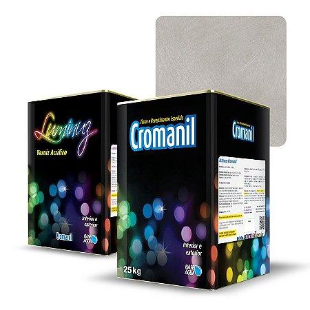KIT Cimento Queimado Lata (25kg)  + 1 Verniz Lata 18 litros - Cor TRADIC. CLARO