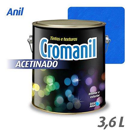 ANIL - Cromanil Tinta Acrílica Acetinado 3,6 litros
