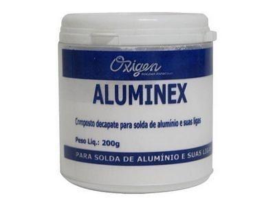 Fluxo Para Solda Aluminex Em Pó 200g