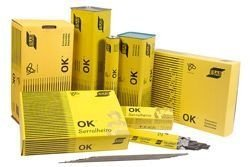 Eletrodo Esab OK 46.00 2,50 mm caixa com 3 kg.
