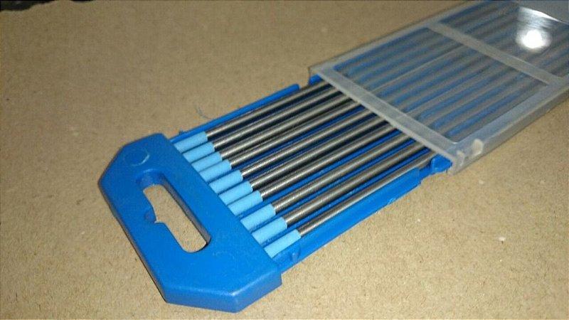 Eletrodo de Tungstenio com 2% lantânio 3,25mm caixa com 10 peças