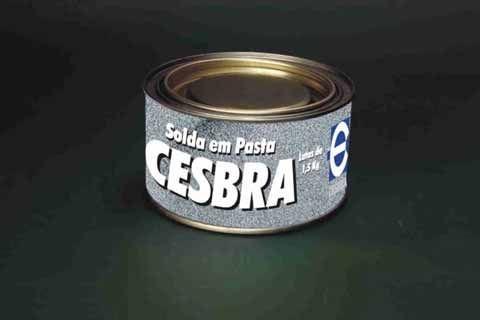 Pasta Estanhante Cesbra 30% 1,5 Kg