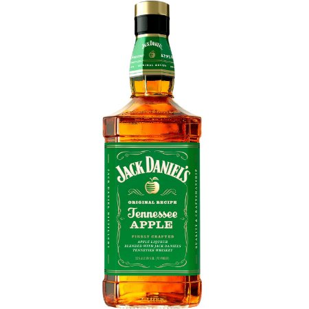 Licor de Whisky Jack Daniels Apple - Maçã Verde - 1000ml