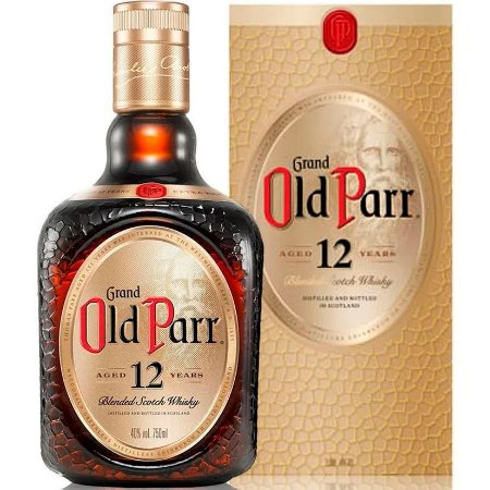 Whisky Grand Old Parr - 12 Anos - 750ml