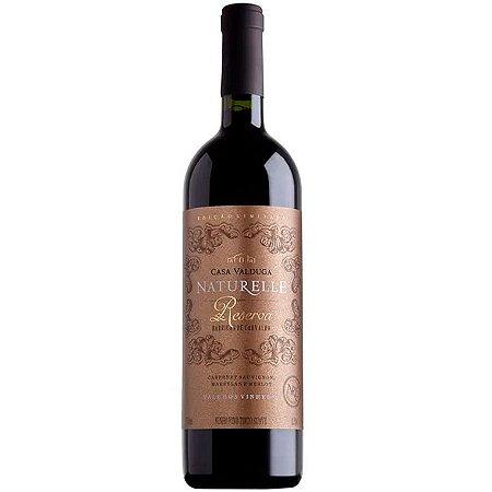 Vinho Casa Valduga Naturelle Reserva - Tinto Suave - 750ml