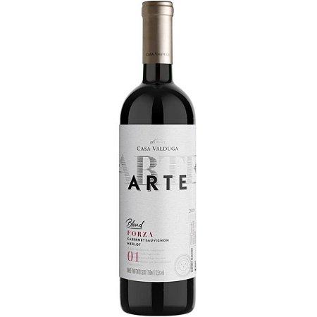 Vinho Casa Valduga Arte Blend - Cabernet Sauvignon / Merlot - Tinto Seco - 750ml