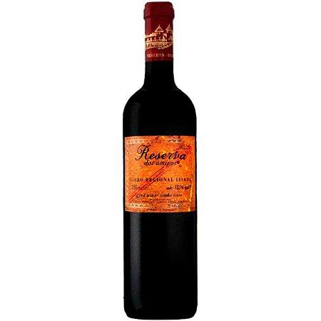 Vinho Reserva dos Amigos - Regional Lisboa - Tinto Meio Seco - 750ml