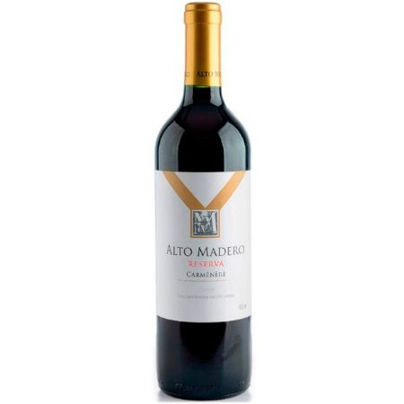 Vinho Alto Madero Reserva Carmenere - Tinto Seco - 750ml