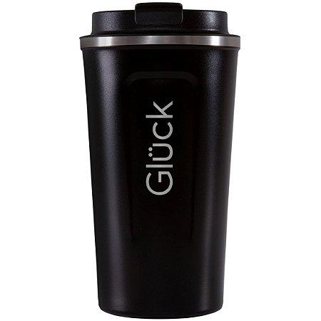 Copo Térmico Glück com Tampa - Spark Black - 500ml