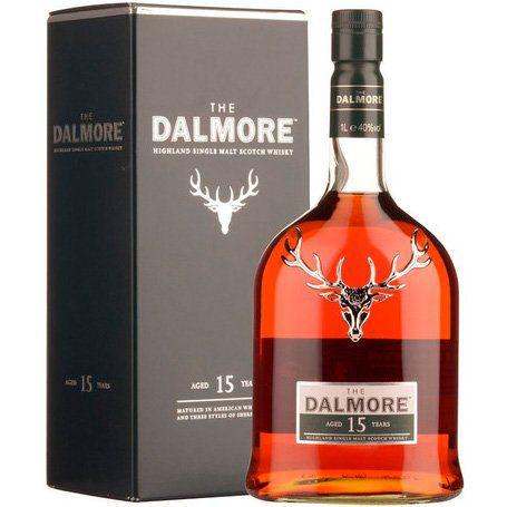 Whisky The Dalmore 15 Anos - Single Malt - 700ml