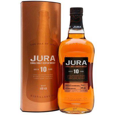 Whisky Jura 10 Anos - Single Malt - 700ml