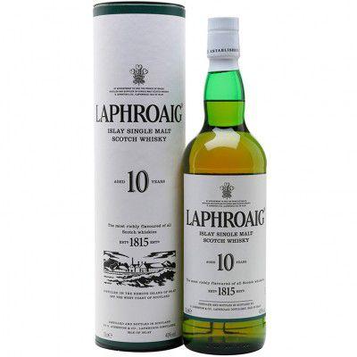 Whisky Laphroaig 10 Anos - Islay Single Malt - 700ml