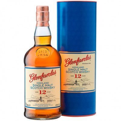Whisky Glenfarclas 12 Anos - Single Malt - 1000ml