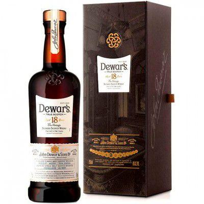 Whisky Dewars 18 Anos - 750ml