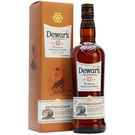 Whisky Dewars 12 Anos - 750ml