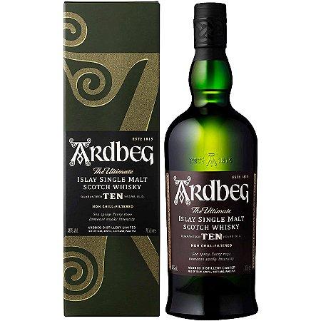 Whisky Ardbeg 10 Anos The Ultimate Ten - Single Malt - 750ml