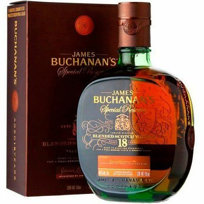 Whisky Buchanan´s Special Reserve - 18 Anos - 750ml