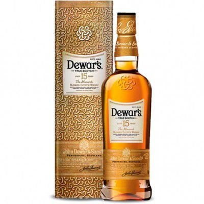 Whisky Dewars 15 Anos - The Monarch - 750ml (Embalagem Exclusiva em Lata)