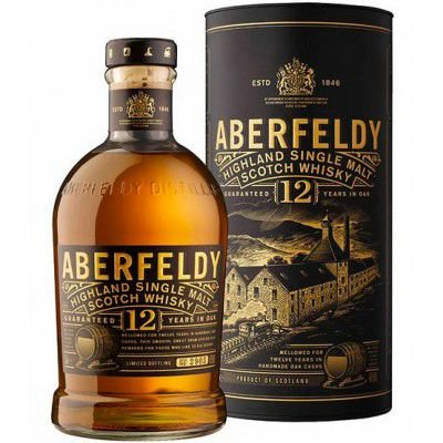 Whisky Aberfeldy 12 Anos - Single Malt - 750ml