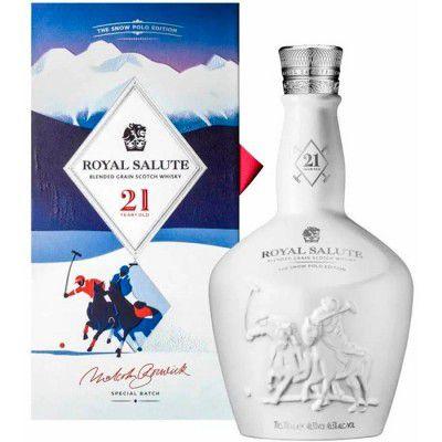 Whisky Chivas Royal Salute - The Snow Polo Edition - 21 Anos - 700ml