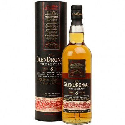 Whisky The GlenDronach The Hielan 8 Anos - Single Malt - 700ml