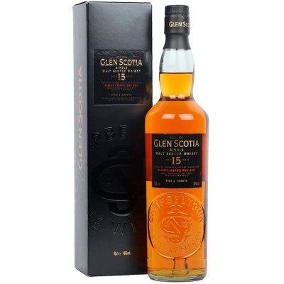 Whisky Glen Scotia 15 Anos - Single Malt - 700ml