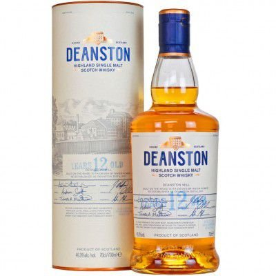 Whisky Deanston 12 Anos - Single Malt - 700ml