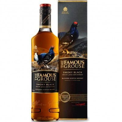 Whisky The Famous Grouse Smoky Black - 750ml