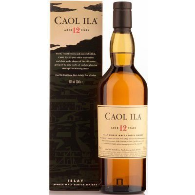 Whisky Caol Ila 12 Anos - Single Malt - 700ml