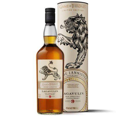 Whisky Lagavulin 9 Anos - House Lannister - Islay Single Malt - 700ml (Edição Game Of Thrones)