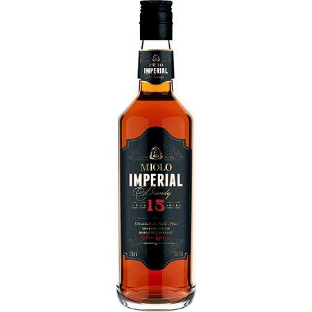Conhaque Miolo Imperial Brandy - 15 Anos - 750ml