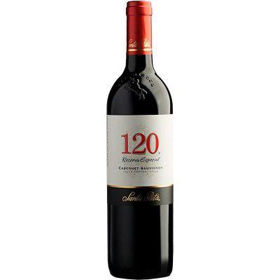 Vinho 120 Reserva Especial Cabernet Sauvignon - Santa Rita - 750ml
