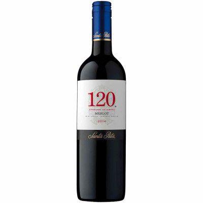 Vinho 120 Reserva Especial Merlot - Santa Rita - 750ml