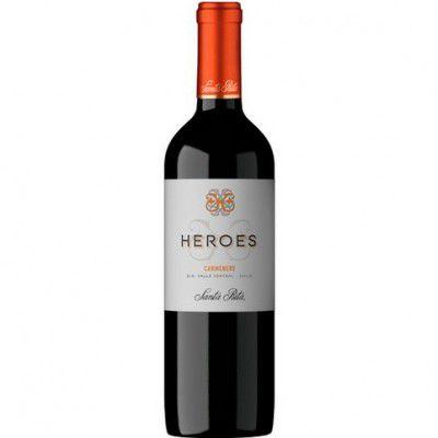 Vinho Heroes Carmenere - Tinto - 750ml