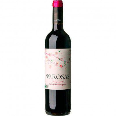 Vinho 99 Rosas Tempranillo / Cabernet Sauvignon - Tinto Seco - 750ml