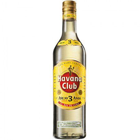 Rum Havana Club - Anejo 3 Anos - 750ml