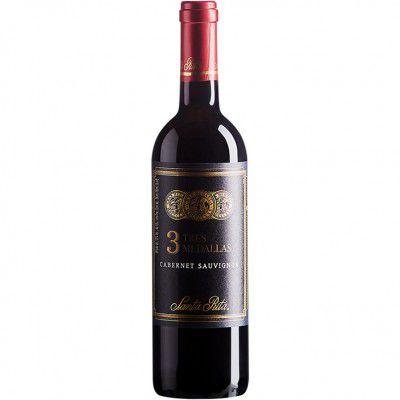 Vinho 3 Tres Medallas Cabernet Sauvignon - Tinto Seco - 750ml