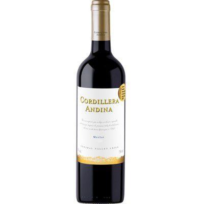 Vinho Cordillera Andina Merlot - Tinto - 750ml