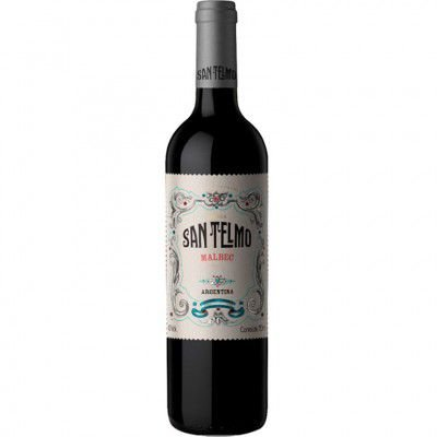 Vinho San Telmo Malbec - Tinto Seco - 750ml