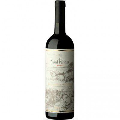 Vinho Saint Felicien Malbec - Tinto - 750ml