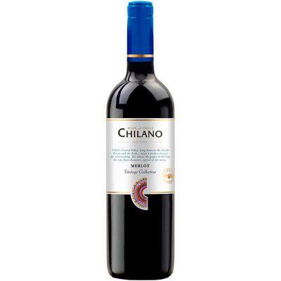 Vinho Chilano Merlot - Tinto Seco - 750ml