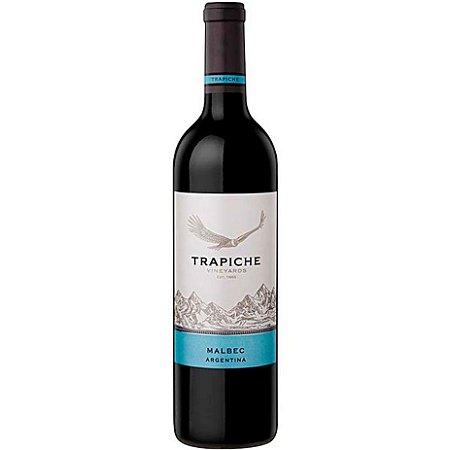 Vinho Trapiche Malbec - Tinto - 750ml