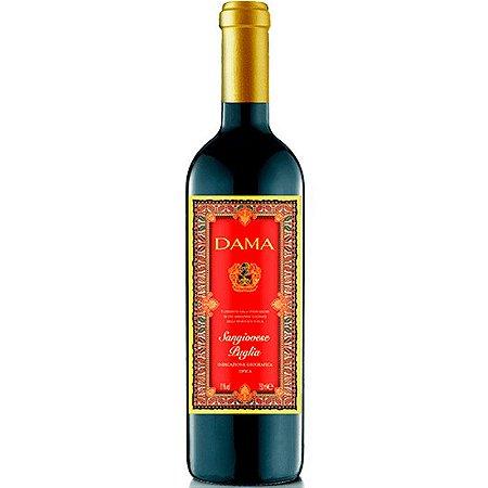 Vinho Dama Sangiovese Puglia IGT - Tinto - 750ml