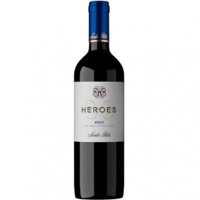 Vinho Heroes Merlot - Tinto - 750ml