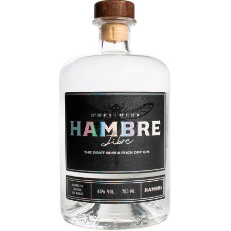 Gin Hambre Libre - 750ml