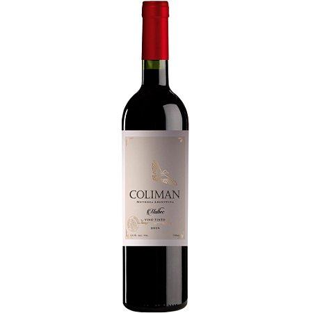 Vinho Coliman Malbec - Tinto - 750ml